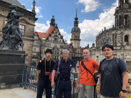 Berlin/In Dresden with Dr Peterwitz of Teikyo Berlin Campus.jpg