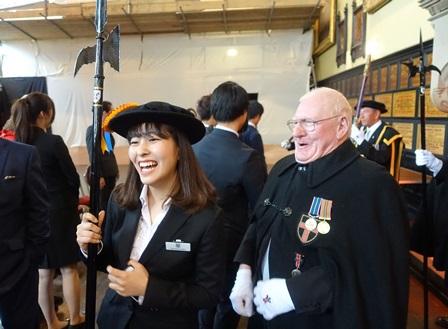 Meeting the Mayor - Teikyo University of Japan in Durham